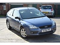 2006 FORD FOCUS SPORT 1.6,FSH*3 MONTHS WARRANTY AND BREAKDOWN COVER*NEW MOT & SERVICE,2 KEYS,