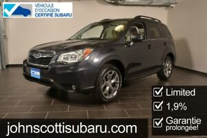 2016 Subaru Forester 2.5I Limited Pkg 1.9% Leather Roof NAV