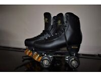 soverign black roller skates size 7