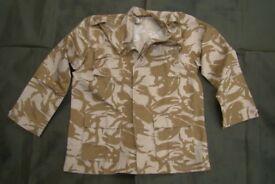 NEW - Rare - Desert Pattern BDU Lightweight Jacket (4 pocket - made for Kuwait Military)