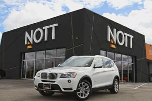 2014 BMW X3 xDrive28i, Panoramic Roof, Navigation, 360-degree