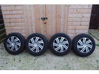 "Citroen, Peugeot Wheels and Tyres 15"""