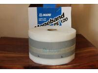 Brand new original MAPEI Mapeband PE 120 PVC tape