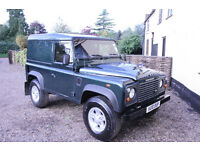 Land Rover Defender 90 2.4 Diesel - 6 speed box - new tyres ONLY 61K