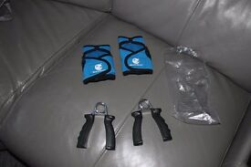 Beach body Weighted Gloves and Hand Grips. Unused. Sell for £12 Unwanted Gift cost new £25