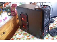 Cheap Gaming PC, Octa Core FX-8320 3.5GHz, 8GB RAM, 500GB, Windows 10, HD 6670 1GB GDDR5 GPU