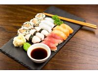 Experienced Sushi and Hot Food Chef