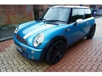 Mini Cooper 2004 with chilli pack 1.6 MOT until May 2017