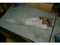 Wanted Old Woodworking Saws
