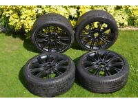 "Bmw E46 18"" Mv2 M Sport Alloy Wheels With Tires Genuine"