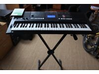 Yamaha PSRE423 Portable Keyboard Workstation, Hercules EZ-Lok stand and Sibelius Student 6