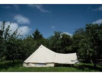 *NEW* 5m Canvas Bell Tents/Awnings
