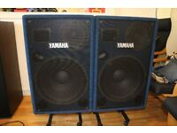 Yamaha PS153 - Powered/Active full range speakers - Great sound - Bargain - almost new - Mint