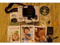 Canon EOS 550D camera body for sale