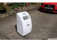Portable air conditioner- Amcor AMC 10 KM-410. Little used and in as new condition