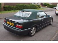Bmw 323i E36 Convertible ** ROOF NOT WORKING *** NO MOT ** For Sale (1999) for spares or parts