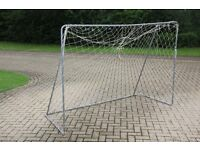 Toy football goal by TP Toys. 7' x 5' (seven foot by five foot)