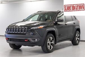 2016 Jeep Cherokee TRAILHAWK LE CENTRE DE LIQUIDATION VALLEYFIEL