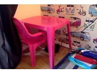 Kids Desk and Chair (pick up today only)