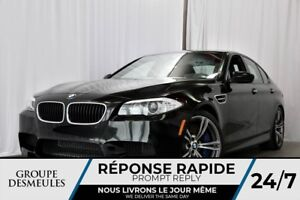 BMW M5 twinpower turbo + certifié bmw + Full load 2013