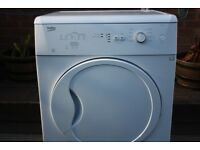 BEKO 7KG CONDENSER TUMBLE DRYER IN GOOD CLEAN WORKING ORDER ONLY 3 MONTH OLD