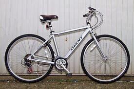 Giant 'Expression' Hybrid Bike.