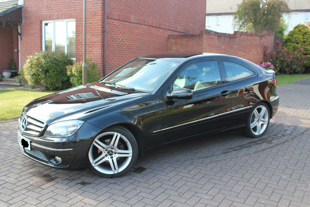 2010 mercedes clc 180 kompressor sport coupe in for Mercedes benz sports coupe