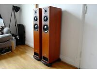 Pair of PMC OB1 Floor Standing Speakers Cherry wood MINT Boxed OOO not TWENTY FB1 EB1 FACT B&W £1400