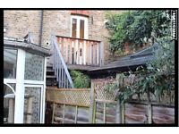 External Wooden Staircase, Landing and Decking – Bargain Price for Excellent Quality Timber