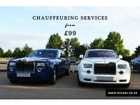 Rolls Royce hire from £99 PER HOUR | Hummer Limo hire from £99 PER HOUR (Ts & Cs apply) | PROM NRA