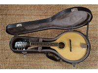 Ozark Professional 2251 Mandolin with hard case & neck strap