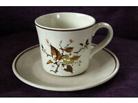 Never been used Royal Doulton Wild Cherry 6 cups & saucers.