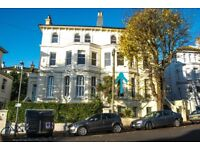 A spacious superb quality one bedroom flat in quiet Alexandra Villas 3 minutes from Brighton Station