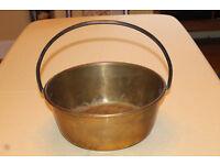 Antique Brass Jam-Making Equipment
