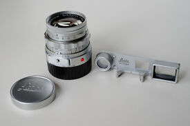 Leica 50mm f2 DR Dual-Range Summicron-M lens with Goggles