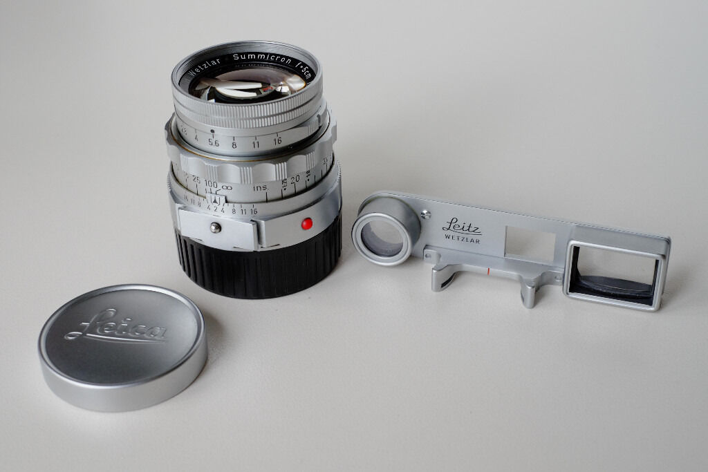 Leica 50mm f2 DR Dual-Range Summicron-M lens with Goggles | in East  Finchley, London | Gumtree