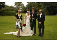Ian Stuart Cabaret Ivory Wedding Dress (Size 6) £500