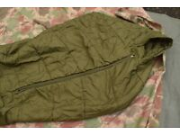 British Army Arctic Cold Weather Issue Sleeping Bag (the Green Maggot)