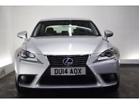 LEXUS IS 2.5 300H LUXURY [SAT NAV/LEATHER] 4d AUTO 220 BHP (silver) 2014