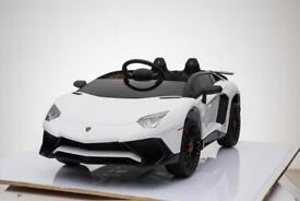 New Lamborghini Sv ride on car 12v with parental control