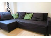L Shape sofa bed from Ikea good condition. Pick up for free Sunday 21-Monday 22