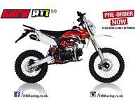 KURZ RT1 50cc Road Legal Pit Bike - CBT Learner Legal - Pitbike - On Road Pit Bike - Enduro - Race
