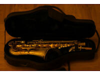 King Super 20 Alto Saxophone with Sterling Silver Neck - Overhauled
