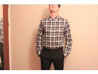 Hugo Boss shirt Size L ( Ralph Lauren, Reply, Dsquared, Philip Plein, Lacoste,Stone Island, Armani)