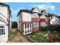 3 BED SEMI WITH GARAGE AND POTENTIAL TO EXTEND (STPP) WITH NO UPPER CHAIN (REF 11837)