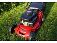 Lawn mower servicing and repair