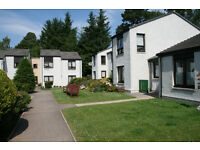 Spacious, 2 bedroom, first floor flat available on modern sheltered development in Grantown-on-Spey