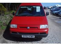 Fiat Scudo JTD SWB mobility van 2002-02-reg, 1997cc turbo diesel, ,new mot 127,000 miles, 6 seats