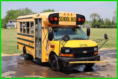 2006 Chevrolet G3500 6.6 Duramax 23 Passenger School Bus