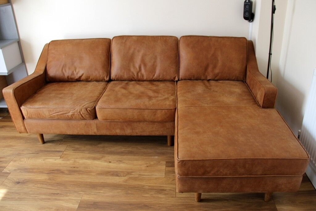 Outstanding Dallas Right Hand Facing Chaise End Corner Sofa Outback Tan Premium Leather Rrp 1999 In Burton On Trent Staffordshire Gumtree Pabps2019 Chair Design Images Pabps2019Com